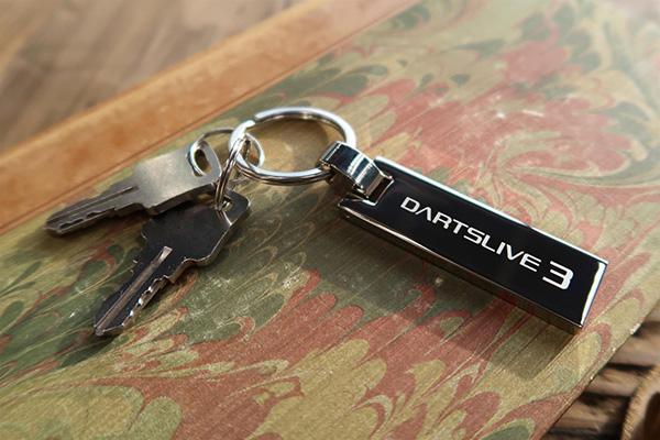 DARTSLIVE3ロゴ入りキーホルダー