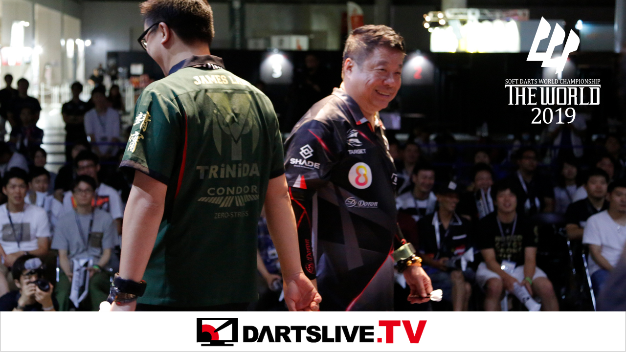 THE WORLD 2019 STAGE 3のFINAL MATCHを公開【DARTSLIVE.TV】