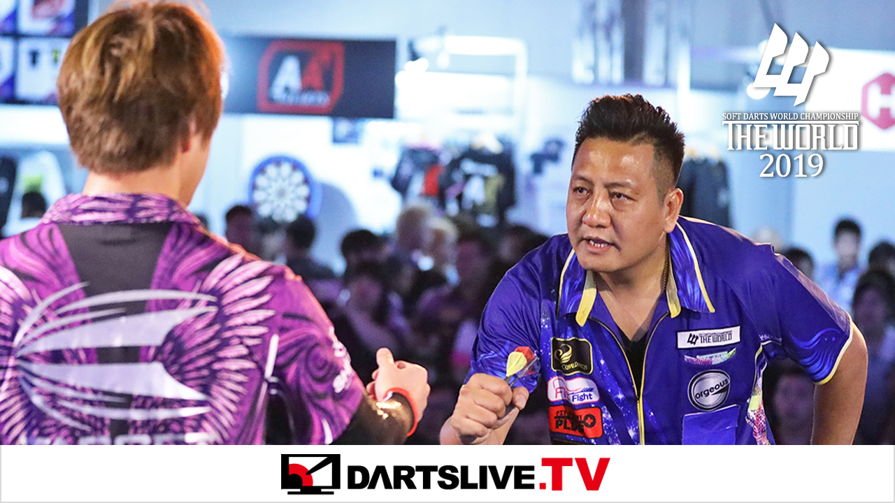 為您播放THE WORLD 2019 FEATURED MATCH 5精彩賽事【DARTSLIVE.TV】