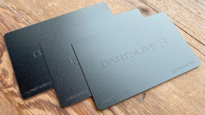 真っ黒なDARTSLIVEカード