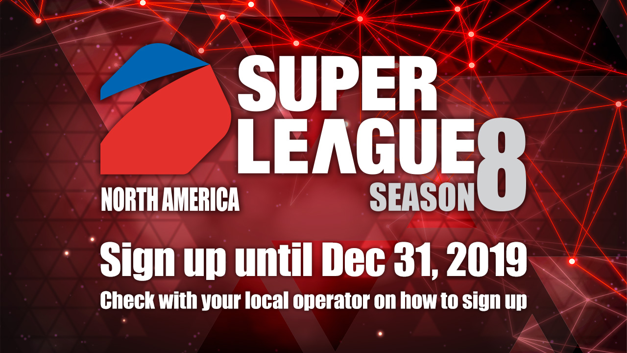 SUPER LEAGUE Season 8 - Sign Up