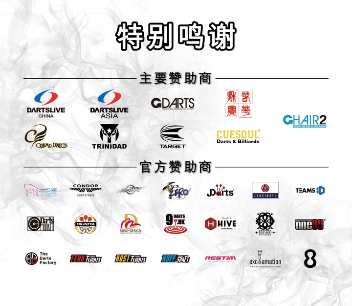 赞助商名单