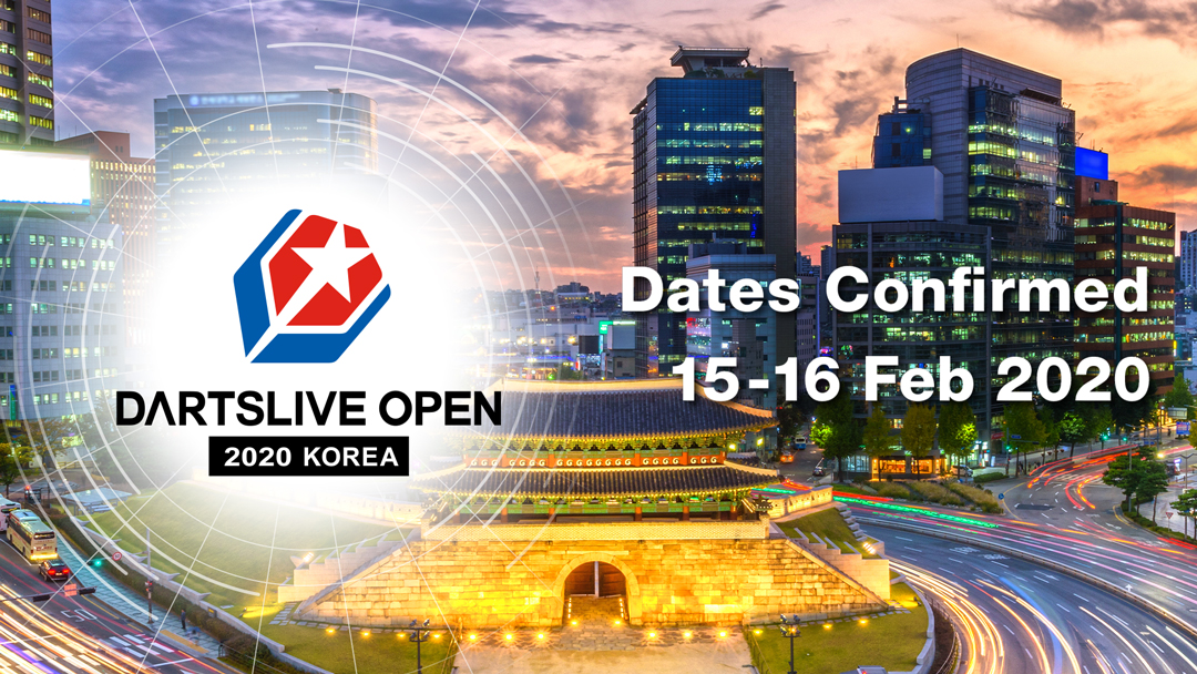DARTSLIVE OPEN 2020 KOREA to take place!