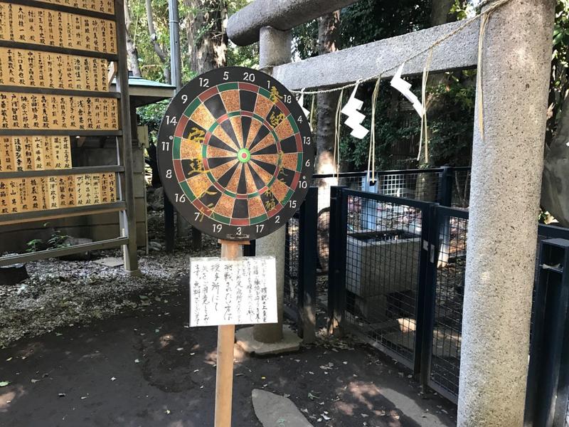 ダーツな神社 戸越八幡神社