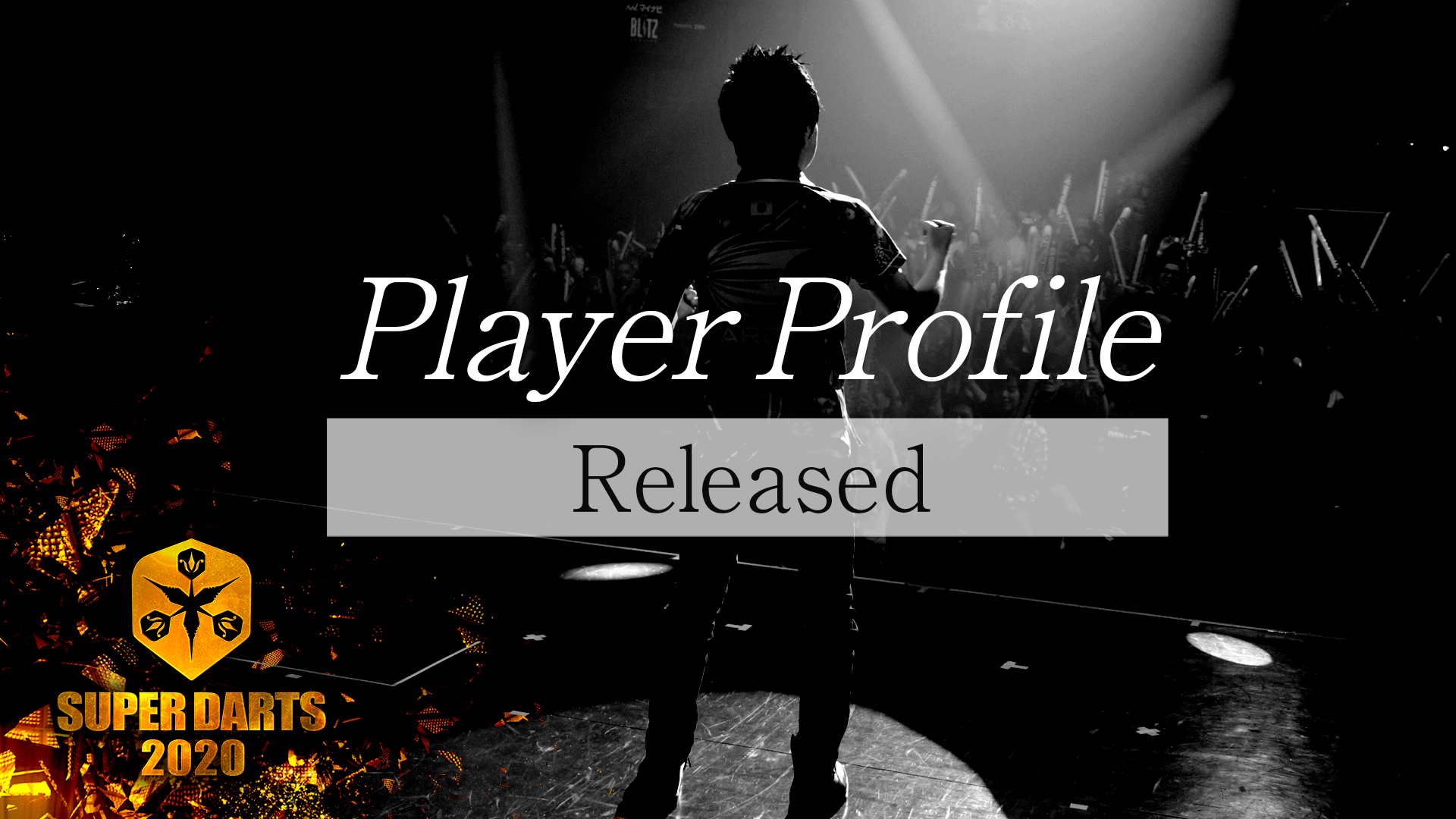 【SUPER DARTS 2020】Player Profile Released