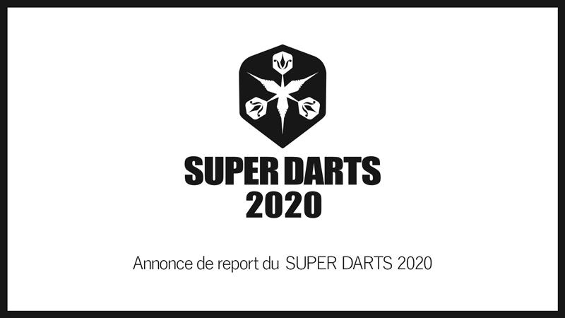 SUPER DARTS 2020 개최 연기