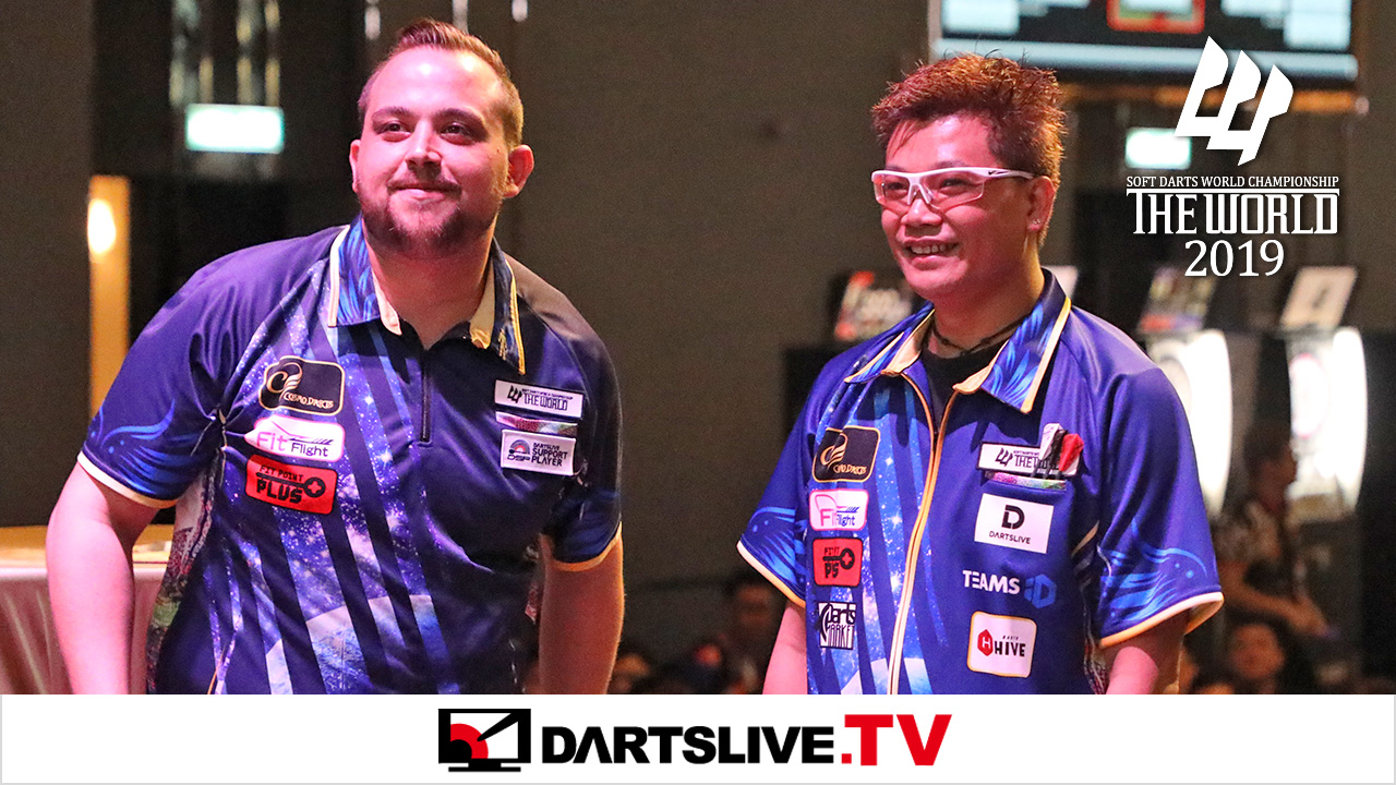 주목! Royden Lam vs Jose Justicia【DARTSLIVE.TV】