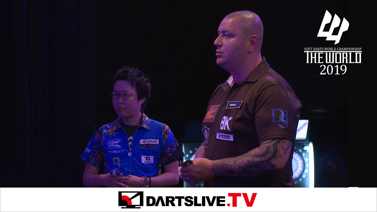 焦點賽事:Haruki Muramatsu vs Boris Krcmar【DARTSLIVE.TV】