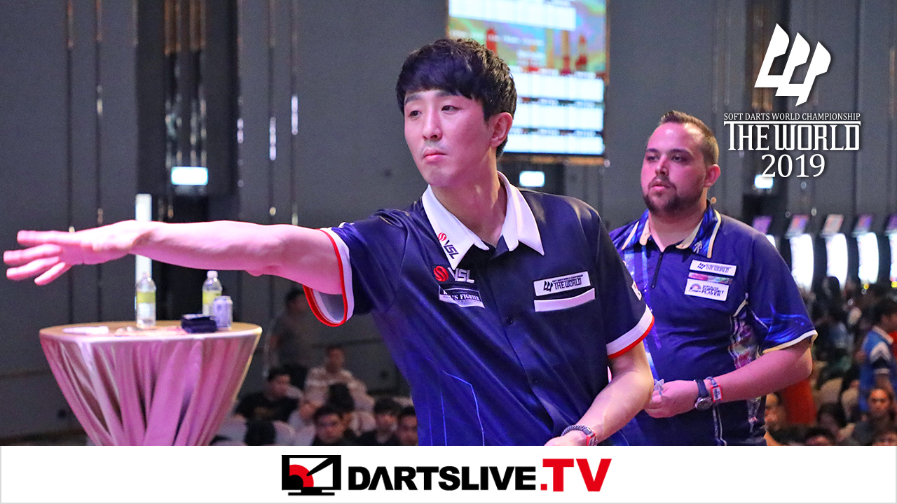 焦點賽事:Jose Justicia vs Min Seok Choi【DARTSLIVE.TV】