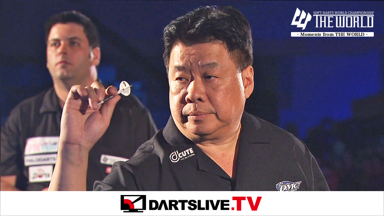 焦點賽事:Chris White vs Paul Lim【DARTSLIVE.TV】