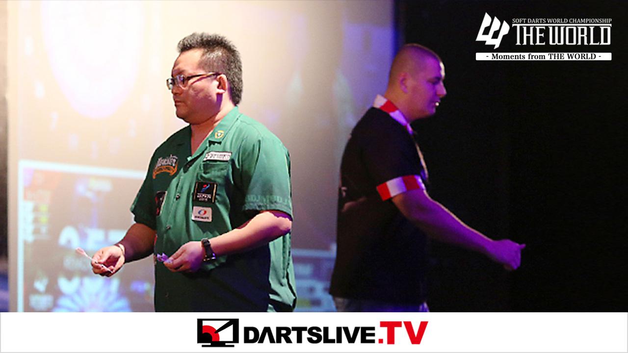 焦點賽事:Boris Krcmar vs Morihiro Hashimoto【DARTSLIVE.TV】