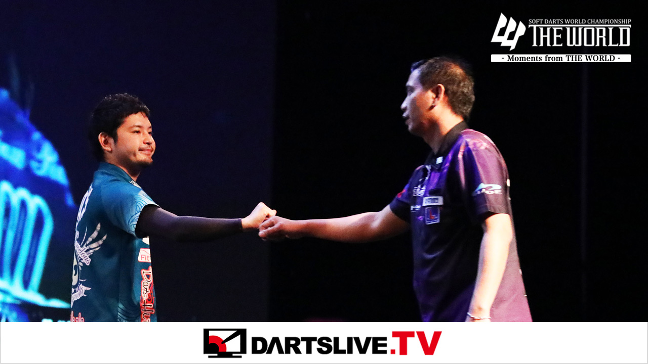 Must-See Match: Yuji Eguchi vs Adrian Marcelino【DARTSLIVE.TV】
