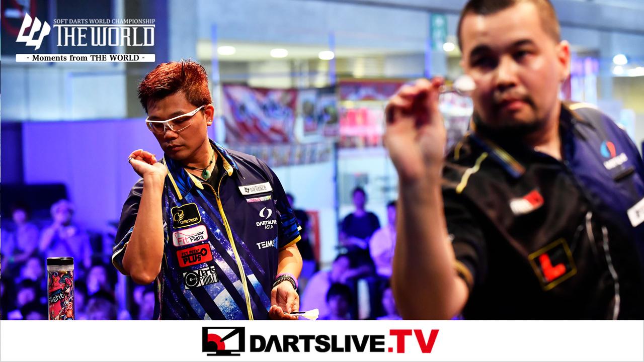 Must-See Match: Chris Lim vs Royden Lam【DARTSLIVE.TV】