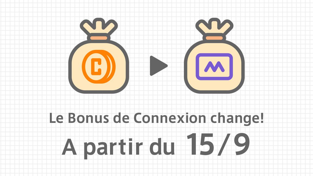 A partir du 15 septembre, le Bonus de Connexion change des Coins aux DARTSLIVE MILES. 