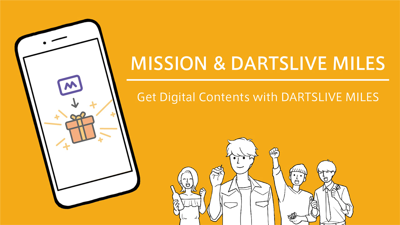 New feature: MISSION & DARTSLIVE MILES starts Wed 15 Sep!